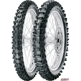 Train de Pneu PIRELLI Mx Soft 410 Spécial Sable